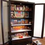 puja cabinet