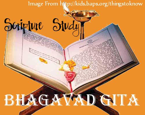 Scripture Study: Bhagavad Gita, book three verses 9-12
