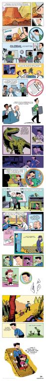 Bill Watterson cartoon about following your passion