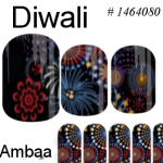Hindu Holiday Nail Art!