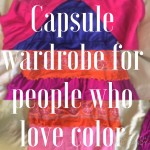 Capsule Wardrobe For People Who Love Color and Print