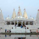 The BAPS Shri Swaminarayan Mandir in Houston