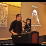William Kiesel of Ouroborous Press and Catamara Rosarium of Rosarium Blends.