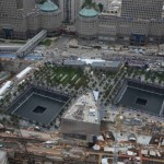 9/11 Memorial at Ground Zero in New York.