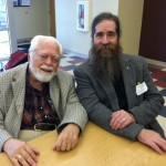 Carl Llewellyn Weschcke with author John Michael Greer