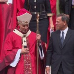 Cardinal Donald Wuerl and Chief Justice John Roberts