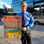 Peter Dybing at Occupy Fort Lauderdale