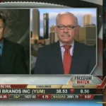 Johnson and Barr on Fox News together in 2010.