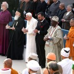 Pope Benedict XVI at the Assisi interfaith gathering. (Getty Images)
