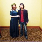 Elysia Gallo with her husband Tamas at Paganicon 2012. (Photo PNC-Minnesota)