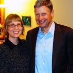 PNC Managing Editor, Cara Schulz with Presidential candidate Gov. Gary Johnson