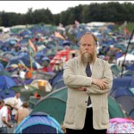 Christopher Howse at Glastonbury.