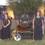 Diana Paxson leading Seidh ceremony at a Druid (ADF) gathering. Photo: ADF.