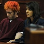 James Holmes in court.