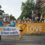 Unitarian Universalists at Pride in Washington DC