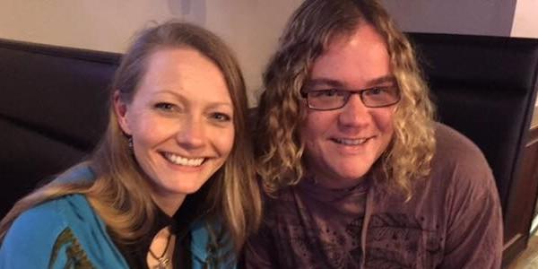"Jason ""Pan"" Mankey and Heron Michelle, Samhain 2016 Visit in North Carolina"
