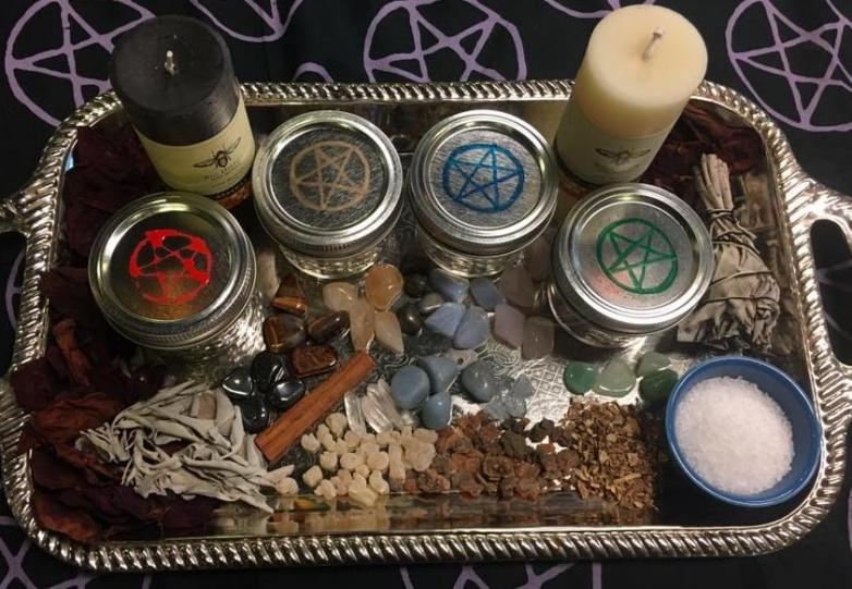 Spiritual Home Clearing and Protection Warding - Witch on Fire
