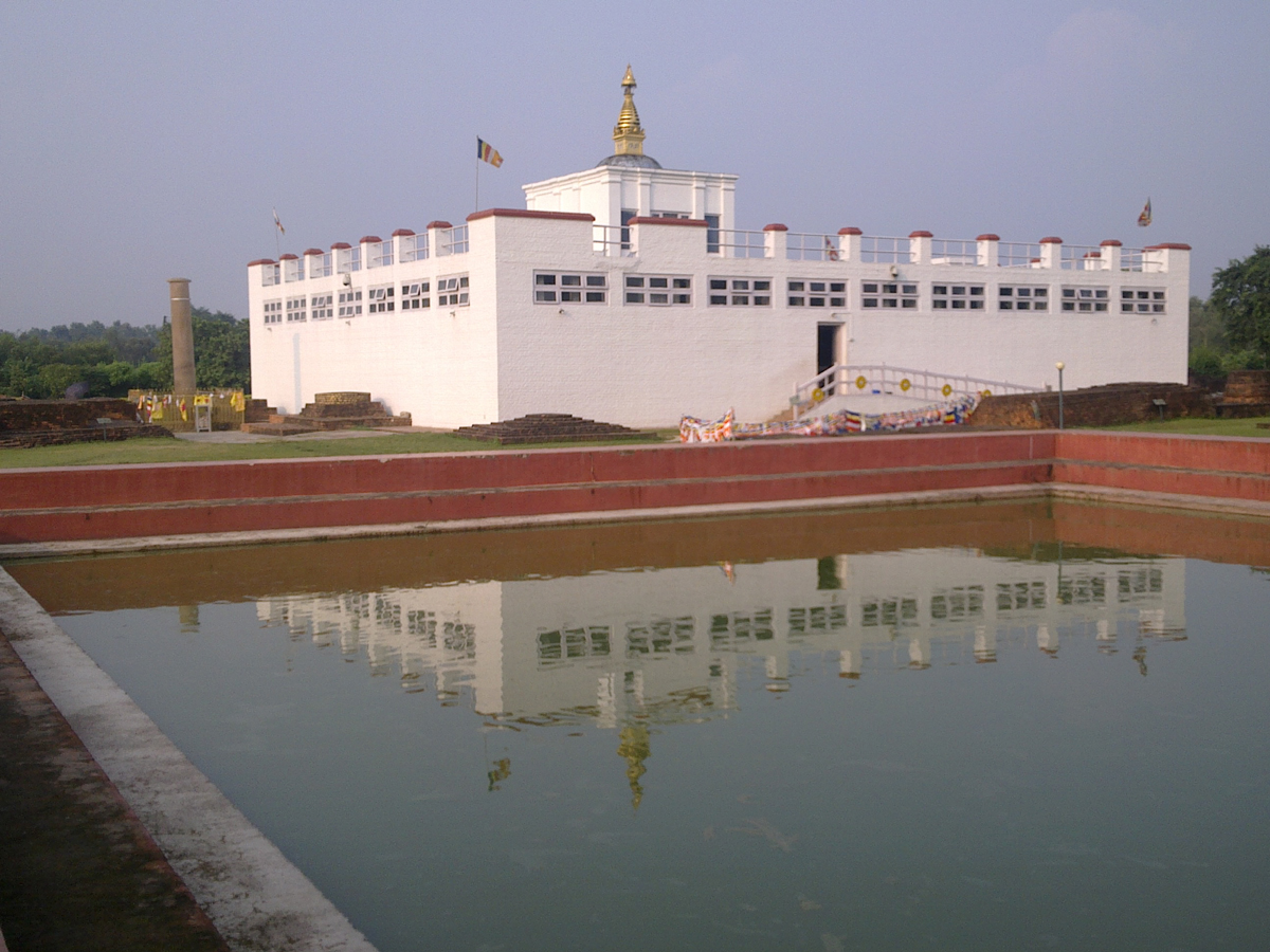Inside the Buddha's Birthplace in Lumbini