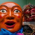 mongolian mask
