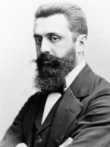 Theodor Herzl, the father of modern Zionism. Source: Public domain in the USA
