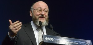 British Chief Rabbi Ephriam Mirvis. Photo credit Cheif Rabbi official website
