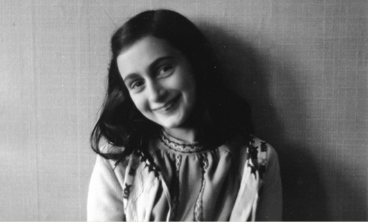 """Dear Anne..."" My letter to Anne Frank for Holocaust Memorial Day"