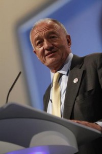 Ken Livingstone Photo credit: Livingstone's official Twitter account