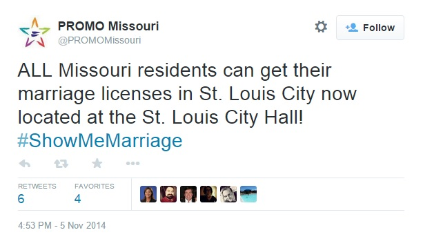 from Noel missouri gay marriage counseling