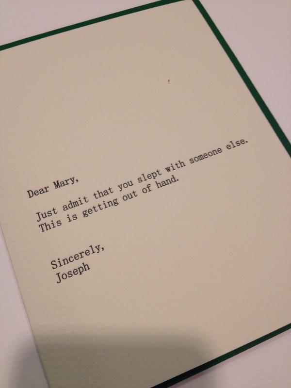 Best atheist christmas card ever jt eberhard mary m4hsunfo