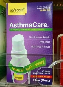 Walgreens Is Selling Homeopathic Asthma Medicine