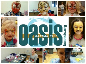 One of out members painted faces last Sunday. They kids loved it!