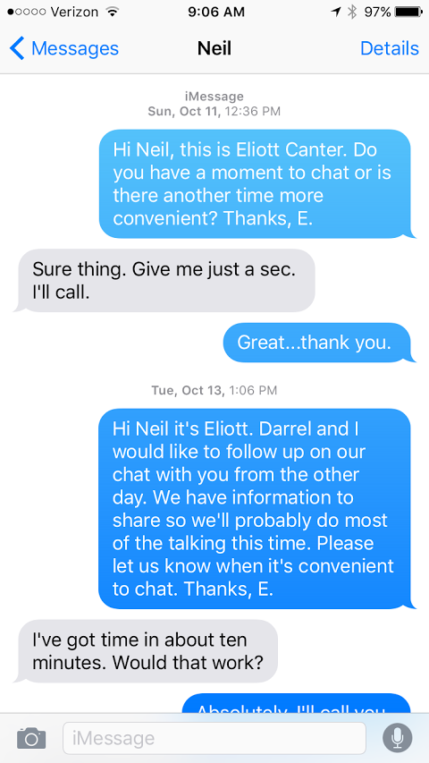 Neil Eliott Oct 11 Text