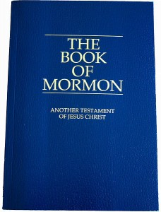 Book of Mormon, public domain.