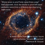 You are stardust and to stardust you will return: Lent for atheists