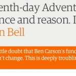 The Guardian: Ben Carson and his Seventh-day Adventist faith