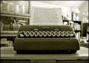 Smith Corona Typewriter!