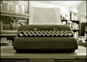 Smith Corona Typewriter!