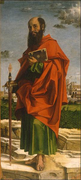 Saint Paul, Bartolomeo Montagna