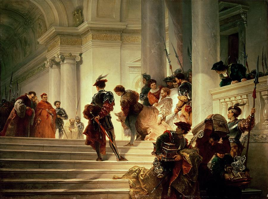 Cesare Borgia, Leaving The Vatican