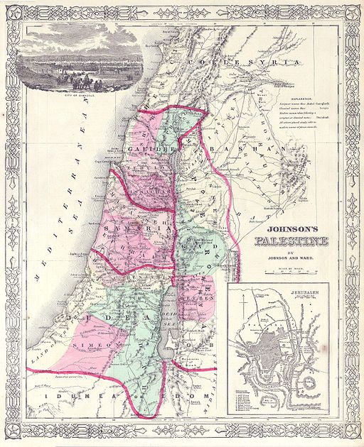 1864_Johnson_Map_of_Israel,_Palestine,_or_the_Holy_Land_-_Geographicus_-_Palestine-j-64