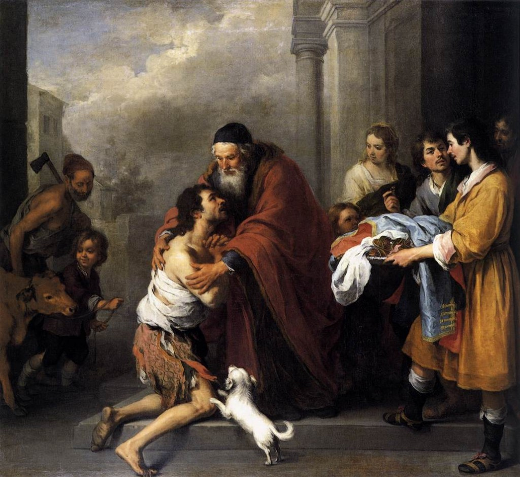 The Return of the Prodigal Son, Bartolomé Esteban Murillo (Public Domain)