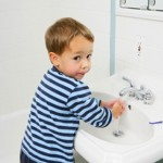 kid clean hands istock