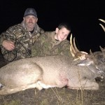 95-pound kid shoots 200-pound buck