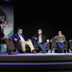 ethics-and-religious-liberty-commission-leadership-summit-panel-the-gospel-and-homosexuality-moderator-andrew-walker-with-panel-members-greg-belser-j-d-greear-speaking-mark-regnerus-and-jimmy-scroggins-on-april-21-2014